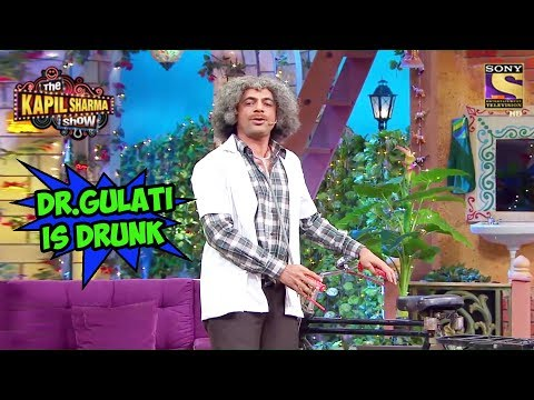 Dr. Gulati Is Drunk - The Kapil Sharma Show
