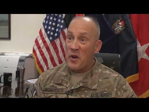 Maj. Gen. Jim Richardson, Cdr., USFOR-A: Retrograde Plan