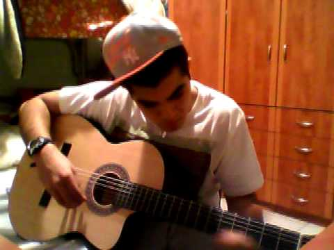 Playing In Guitar Superman By Eminem video