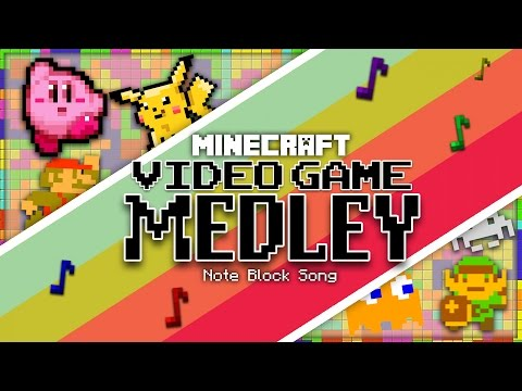 Retro Video Game Medley (Minecraft Note Block Song) Ft. ShinkoNet