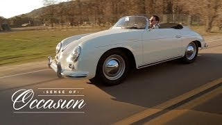 Driving a Porsche 356A Speedster is a Sense of Occasion