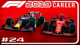 F1 2019 Career Mode Part 24 | TAKING ON THE RED BULLS | Chinese GP