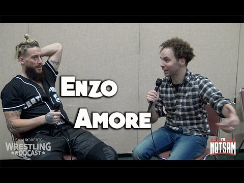 Enzo Amore- Sneakers, Nudity, Concussion, Going Singles, etc - Sam Roberts thumbnail