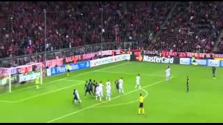 Bayern Munich vs CSKA Moscow 3-0 (17-09-2013) match highlights