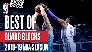 NBA's Best Guard Blocks | 2018-19 NBA Season | #NBABlockWeek