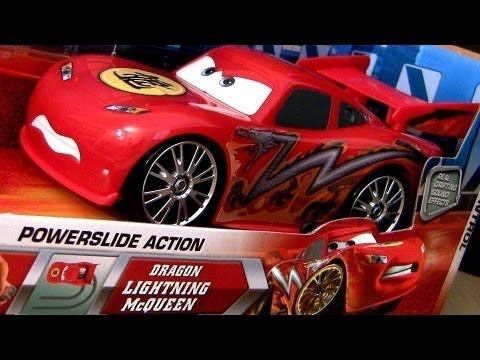 Powerslide Dragon Lightning McQueen Drift Car RC Cars Toon Tokyo Mater Disney Pixar Drifting Action