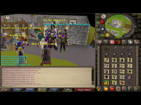 Runescape 2007 - Sparc Mac's Craziest Staking Day.. EVER?