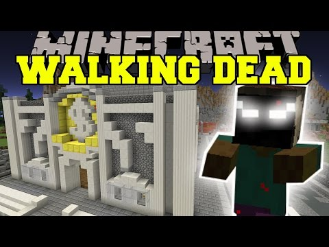 Minecraft: THE WALKING DEAD (WHO WILL SURVIVE THE ZOMBIES HORDES?) Mini-Game