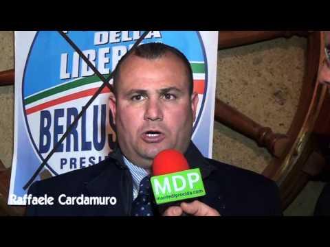 RAFFAELE CARDAMURO PDL  intervista a Villa Vazia. POPOLO DELLA LIBERTA'. BACOLI