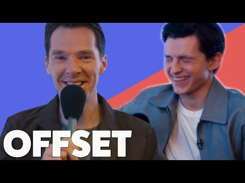 'I did not see the thong!': Benedict Cumberbatch and Tom Holland talk memes & awkward first meetings thumbnail