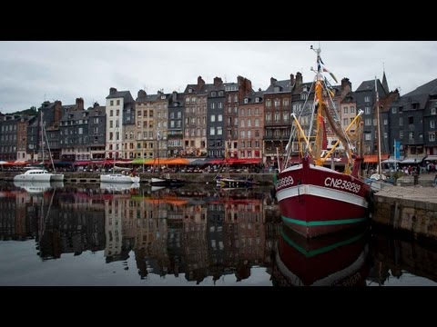 Honfleur: pretty coastal town in Normandy