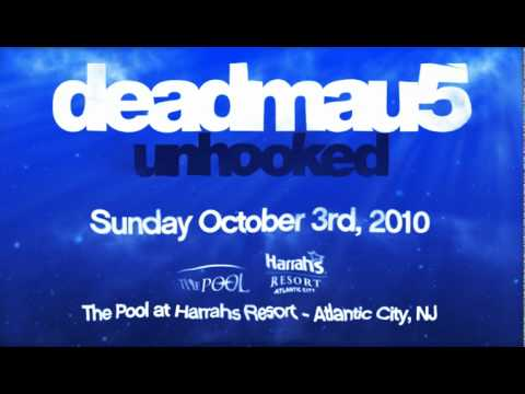 Area Event Presents deadmau5 Oct 3 at The Harrah&#039;s Pool