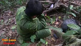 Yos hav zoov nyob los tsuas/ Hunting @ Laos 2018  Episode 14