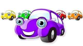 Learning colors Cars Teach Colours, Baby Toddler Preschool