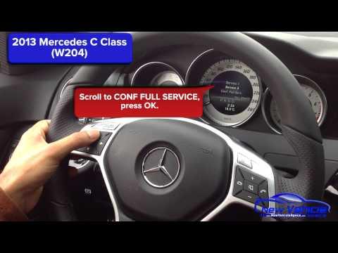 Mercedes benz c230 service interval reset how to make for Mercedes benz oil change interval