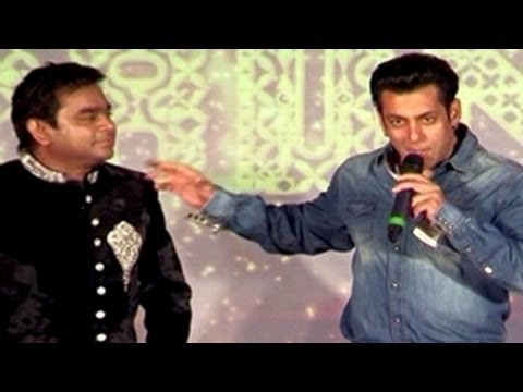 Salman Khan INSULTS A.R.Rahman in public