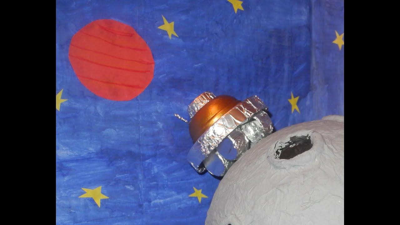 Поделку своими руками ко дню космонавтики