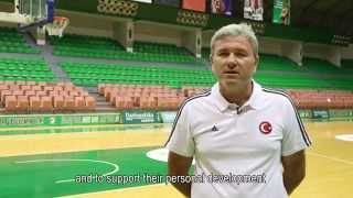 TBF | CAMP PASS IT ON ULUSLARARASI BASKETBOL KAMPI 2014