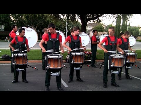 Vanguard Drumline 2012 - Drum Break