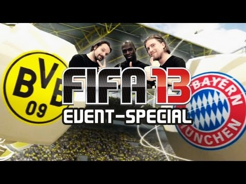 Let's Play FIFA 13 - Event-Special feat. Hans Sarpei & Gronkh: BVB vs Bayern [Deutsch] [Full-HD]