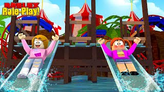 Baby Alive Waterpark Fun! - Roblox Roleplay
