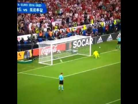 Penal de Cristiano Ronaldo l Portugal - 1:1 Poland (Penales 5 - 3) Euro 2016