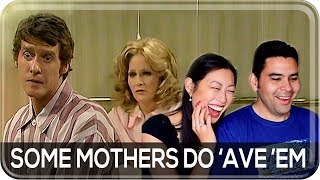 Hilarious: Americans React to Some Mothers Do 'Ave 'Em | British Comedy