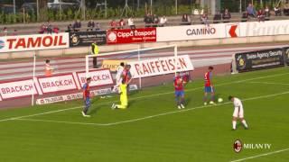 FC Chiasso vs AC Milan - Highlights