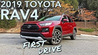 The 2019 RAV4 is Toyota's take on the modern small SUV