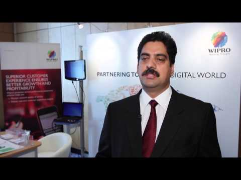 Interview with Sriram T V, Wipro Technologies at Managed Services World Congress 2012