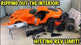 "Rebuilding A Wrecked 2014 Dodge Viper TA ""TIME ATTACK"" PART 6"