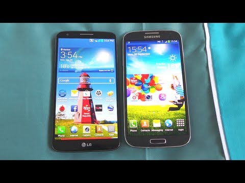 LG G2 VS SAMSUNG GALAXY S4: SNAPDRAGON 800 VS OCTA CORE