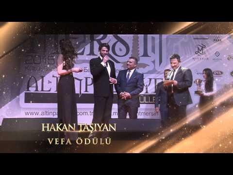 2015 Mersin Altın Palmiye - Hakan Taşıyan - Vefa Ödülü