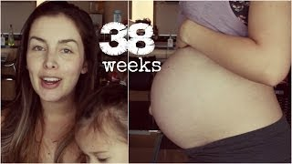 38 WEEK PREGNANCY VLOG + BELLY | AmandaMuse