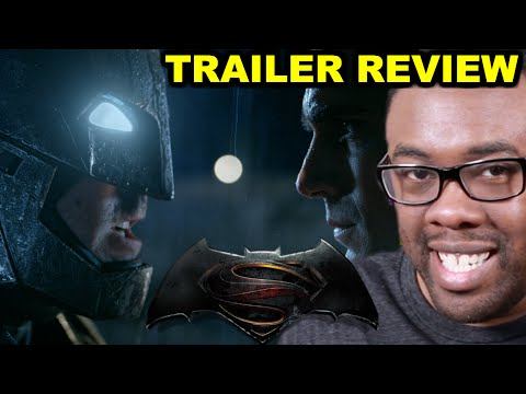 BATMAN v. SUPERMAN Comic-Con Trailer Review : Black Nerd