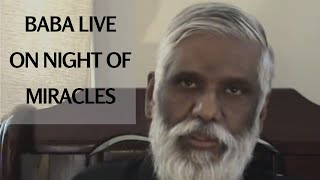Baba Live On The Night of Miracles! Conference Call