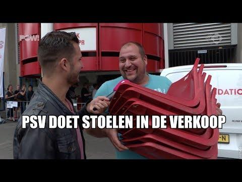PSV doet stadionstoeltjes in verkoop