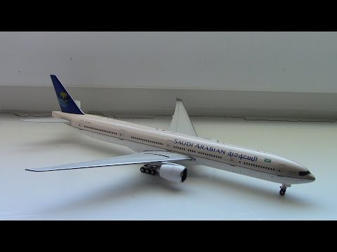 Phoenix Models Saudi Arabian Boeing 777-300ER Review
