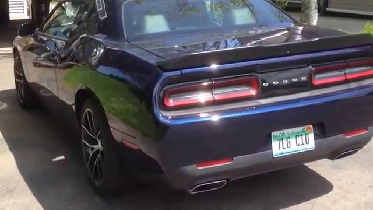 2015 Dodge Challenger R T 392 Scat Pack Youtube