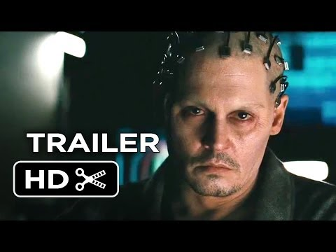 Transcendence Official Trailer #1 (2014) - Johnny Depp Sci-Fi Movie HD klip izle