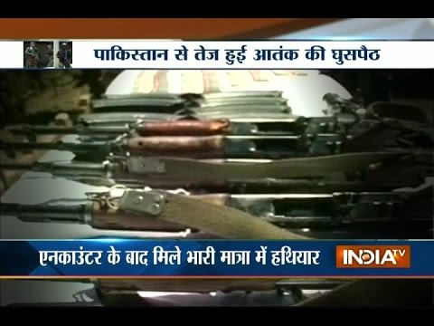 Army recovers huge amount of arms and explosives in J&K's kupwara district