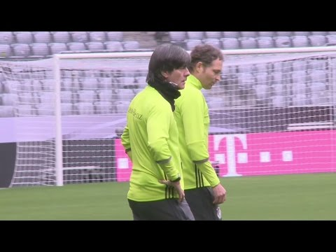 Low prepares Germany for Italy clash