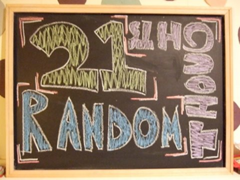 In this video Dan lists off 21 of his random thoughts! Are you having any random thoughts right now? Post a comment below! Beat made by: http://www.youtube.c...
