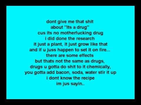 Katt Williams- weed Remix (LYRICS ON SCREEN)