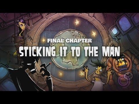 Stick It To The Man Walkthrough Ending Part 10: Chapter 10 Stick It To The Man Ending