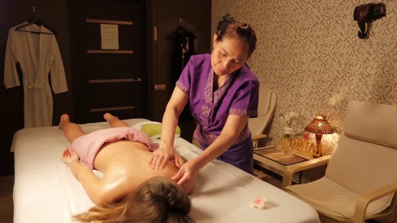 3gp тайский массаж