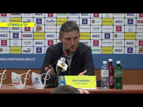 Tisková konference hostujícího trenéra po utkání Teplice - Zlín (7.12.2019)