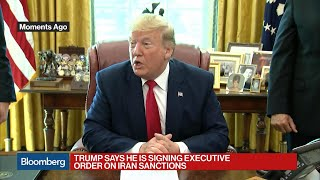 Trump Imposes Sanctions on Iran's Supreme Leader