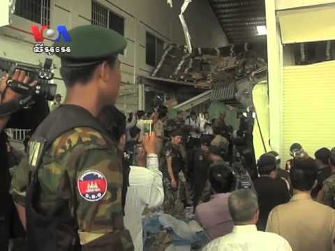 Minister: Roof Collapse At Cambodian Shoe Plant Killed At Least Two Workers (Cambodia news in Khmer)