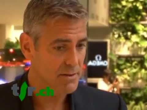 Darfour: interview de George Clooney